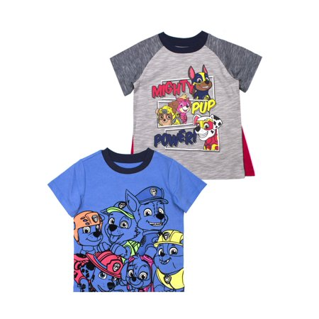 Paw Patrol Short Sleeve T-Shirt, 2pk (Toddler Boys)