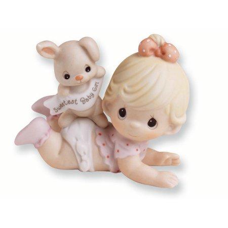 - Precious Moments Porcelain Baby Girl Figurine (4.5x3.1inch)