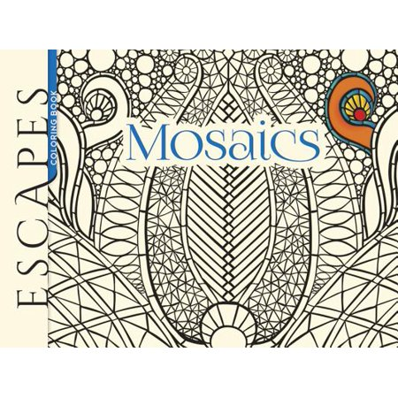 Escapes Mosaics Coloring Book](Mosaic Books)