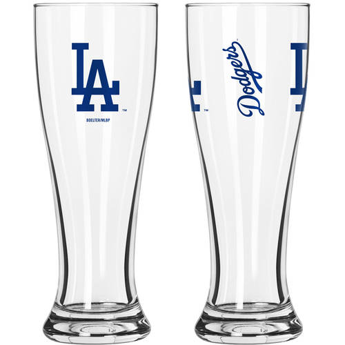 Boelter Brands MLB Los Angeles Dodgers 2-Pack Gameday Pilsner Set