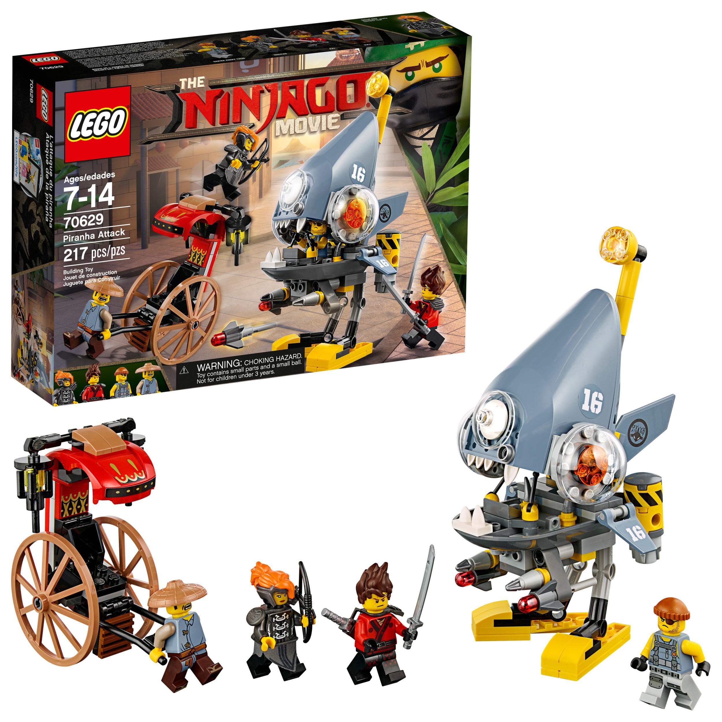 LEGO Ninjago Movie Piranha Attack 70629 (217 Pieces)