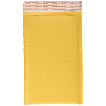 Kraft Bubble Mailers 7.25x11 Inches Padded Envelopes | Packing, Eco-Friendly Shipping Envelope Pack of 10 | Safe, Easy-to-Close and Ultra-Secure Mailing Option by KKBESTPACK