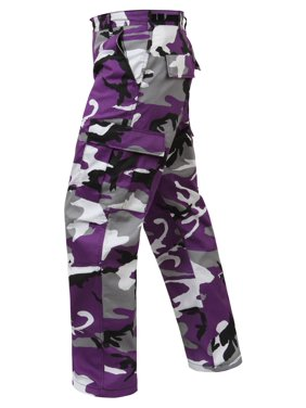 Product Image Rothco Color Camo Tactical BDU Pant - Ultra Violet Camo 574d1870f49