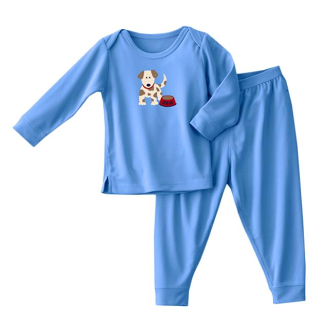 HALO ComfortLuxe 2 Piece Set Silky, Blue Rex Dog, 3-6 Months Multi-Colored