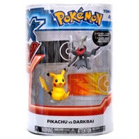 Pokemon XY Pikachu vs Darkrai Figure 2-Pack