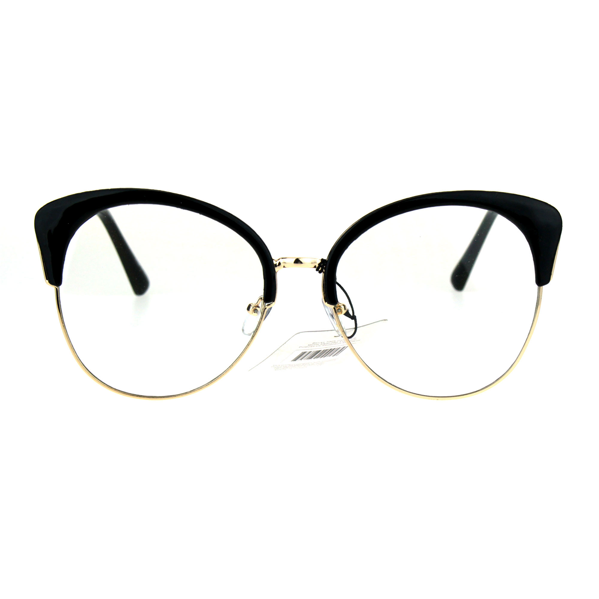 d31bc308092 Half Rim Cat Eye Glasses « One More Soul