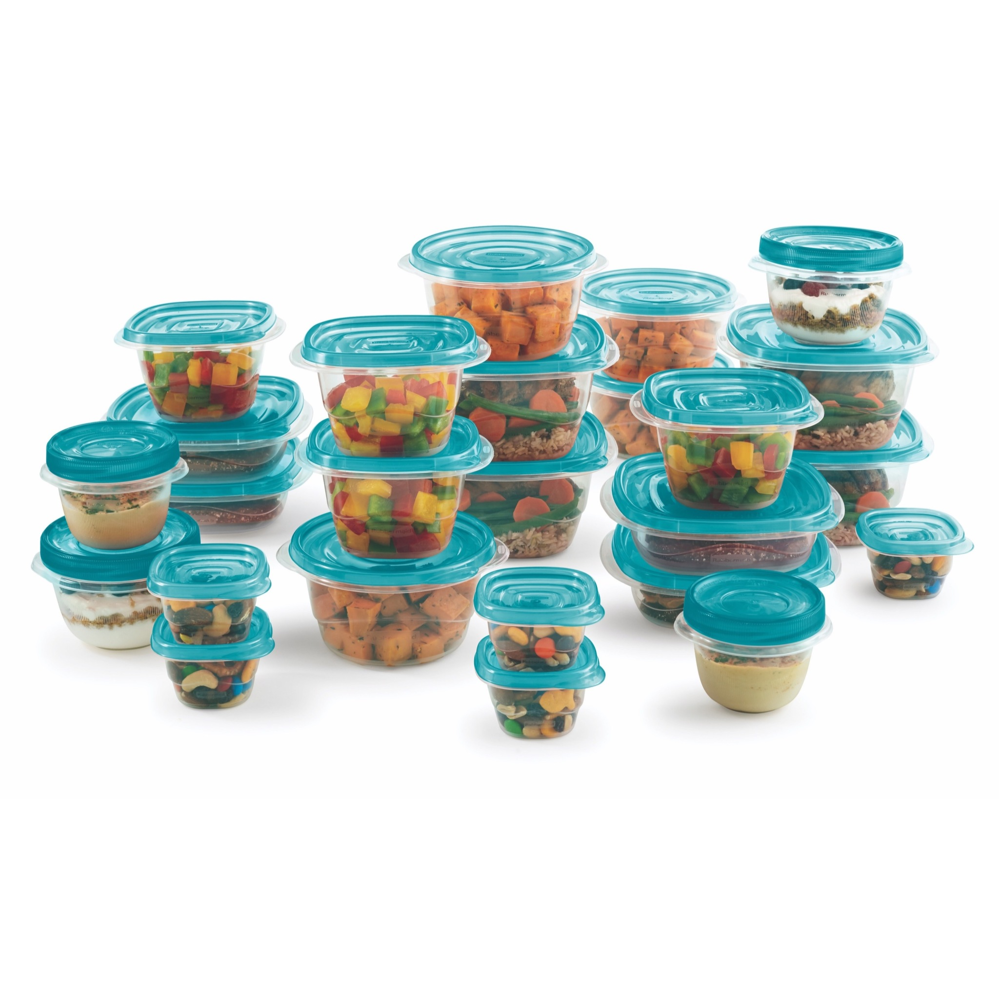 Rubbermaid 50 Pc Food Storage Takealong Teal
