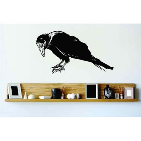 New Wall Ideas Crow Raven Blackbird Halloween Party Kids Boy Girl Teen Dorm Room Children 25x10](Halloween Room Decor Ideas)