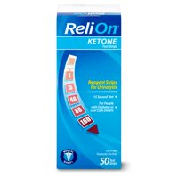 ReliOn Ketone Test Strips, 50 count