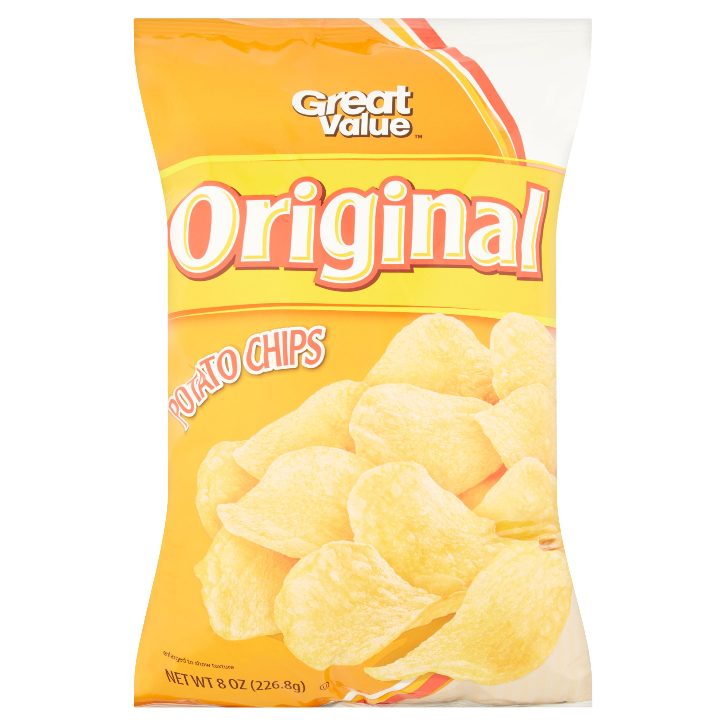 Great Value Original Potato Chips 8 oz by Wal-Mart Stores, Inc.
