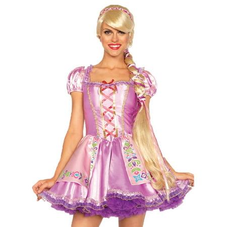 Morris Costumes Womens Disney Character Rapunzel Blonde Wig One Size, Style UAA2674 - Rapunzel Costume Women