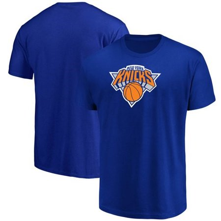 Men's Majestic Blue New York Knicks Victory Century T-Shirt