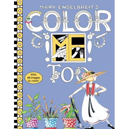 Mary Engelbreit's Color Me Too Coloring Book - Engelbreit Halloween