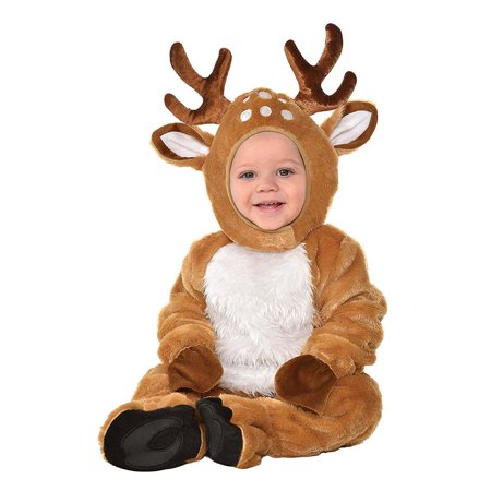 Inflatable Deer Costume (Cozy Deer Unisex Infant Cute Bambi Animal Halloween)