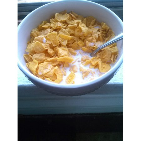 LAMINATED POSTER Cereal Food Grain Milk Bowl Morning Breakfast Poster Print 24 x 36 - Halloween Morning Breakfast Ideas