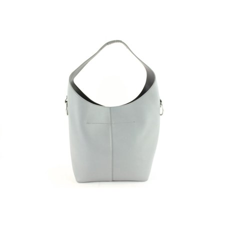Alexander Wang Grey Leather Genesis Hobo 16MZ1126