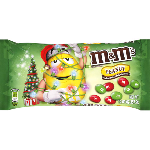 M&M's Peanut Chocolate Candies, 12.6 oz