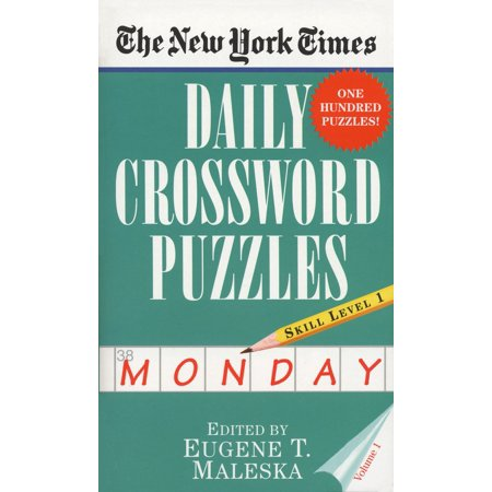 The New York Times Daily Crossword Puzzles (Monday), Volume I - Halloween Crossword Puzzles Answer