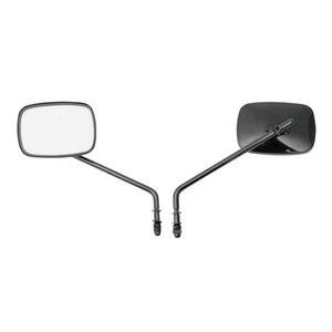 Drag Specialties Die-Cast Mirrors Low Rider Black