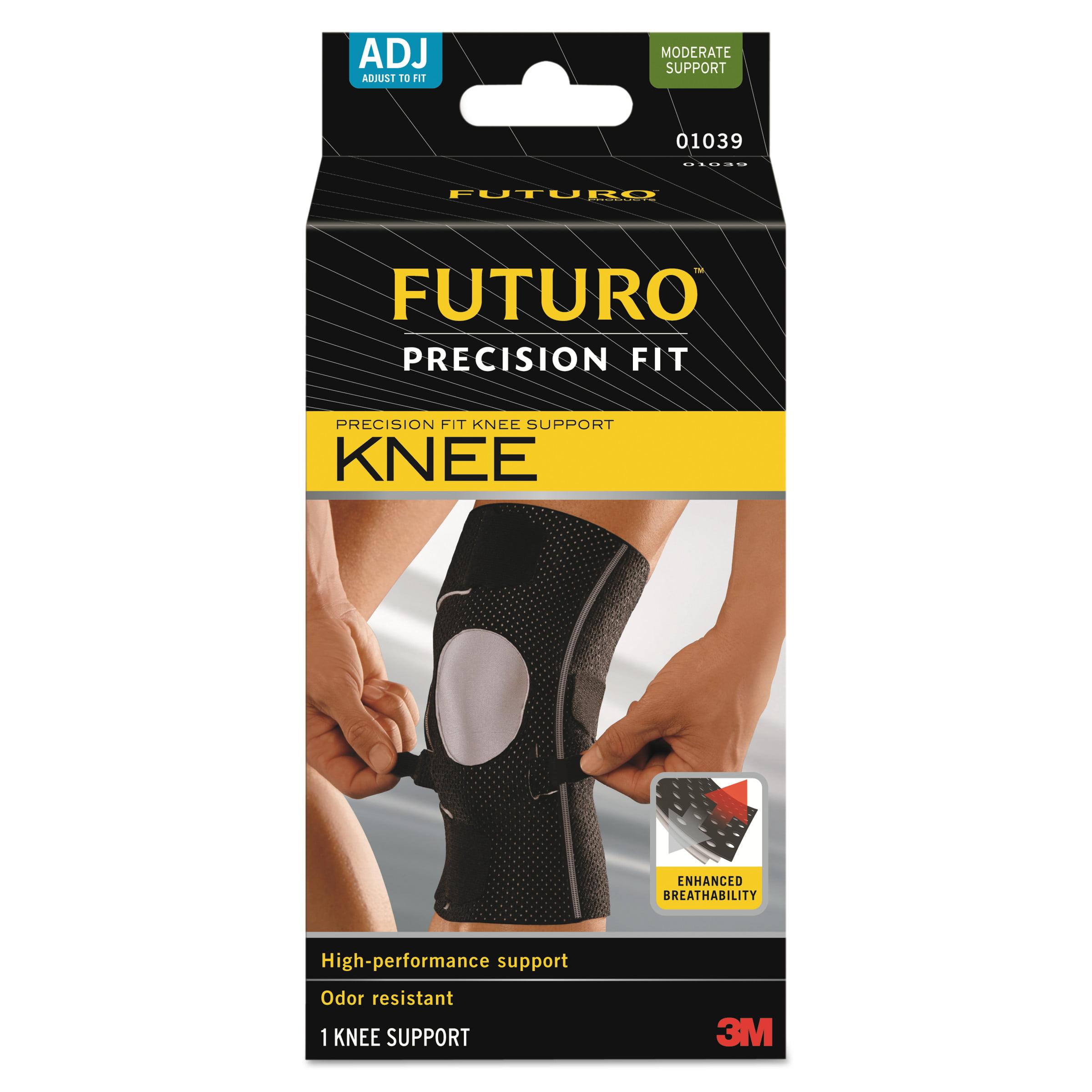 FUTURO Precision Fit Knee Support, Black