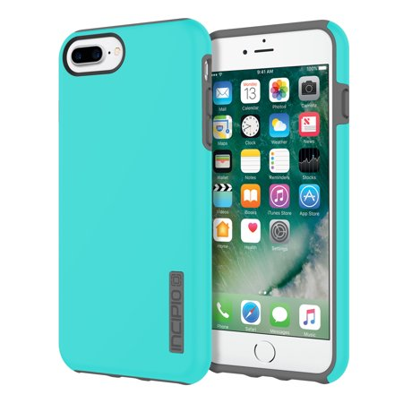 Incipio DualPro for iPhone 8 Plus, iPhone 7 Plus, & iPhone 6/6s Plus - Turquoise / Charcoal