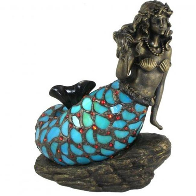 Standard Specialty 1658 Mermaid on Rock Table Lamp
