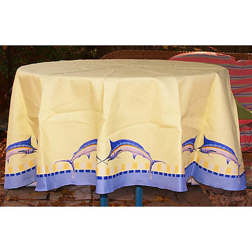 Betsy Drake Interiors Marlin Tablecloth