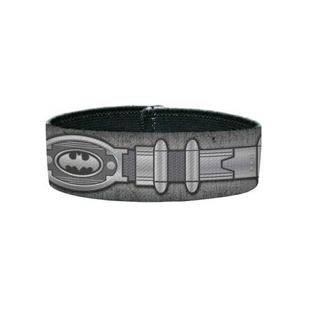 Batman DC Comics Superhero Metal Utility Belt Costume Plastic Bracelet](Rubber Costumes)
