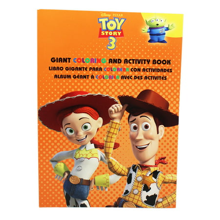 Disney Pixar's Toy Story 3 Jessie and Woody Orange Cover Coloring Book](Disney Coloring Book)