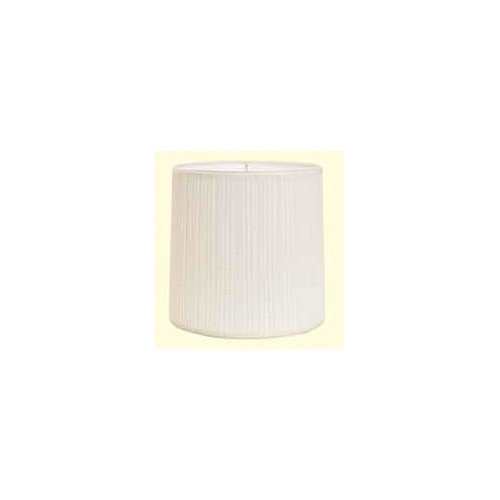 Deran Lamp Shades 16'' Mushroom Pleat Cylinder Lamp Shade