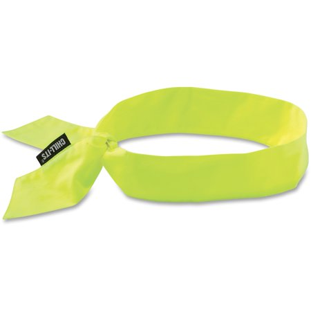 Chill-Its, EGO12301, Evaporating Cooling Bandana, 1 Each, Lime](Custom Bandanas)