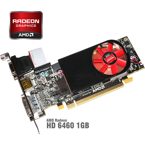 AMD Radeon HD 6450 1GB GDDR5 PCI Express 2.1 Video Card