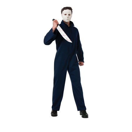 Adult Deluxe Michael Myers Costume by Rubies 887244 (Michael Myers Games Halloween)
