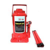 Zimtown 20 Ton Low Profile Hydraulic Bottle Jack Autos Emergency Hoist Lift Stands Tool