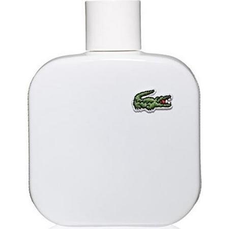 Lacoste L.12.12 Blanc Cologne for Men, 1.6 Oz