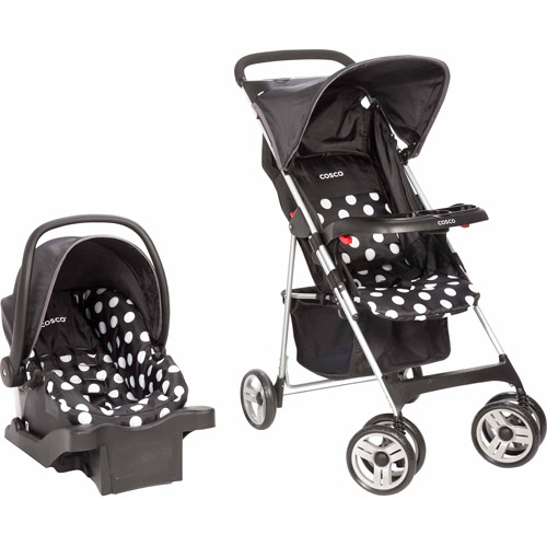 Cosco Commuter Compact Travel System, Retro Dot