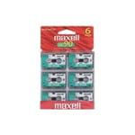 Maxell MC-90 UR Microcassette tape 6PK by Maxell