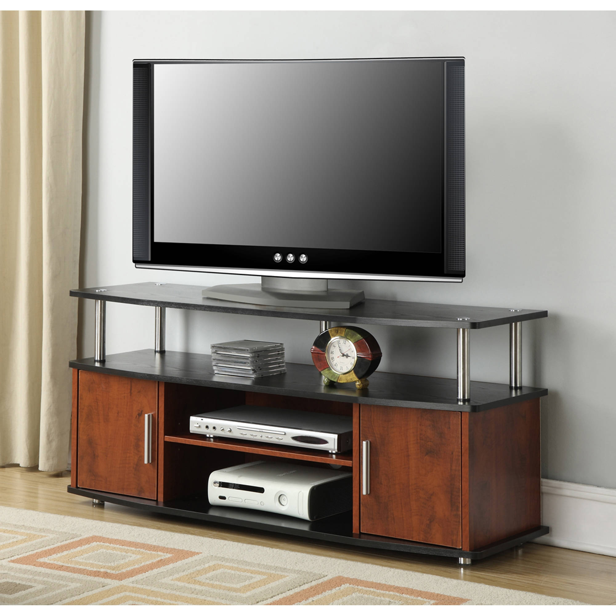 Convenience Concepts Designs2go Black Cherry Monterey Tv Stand For