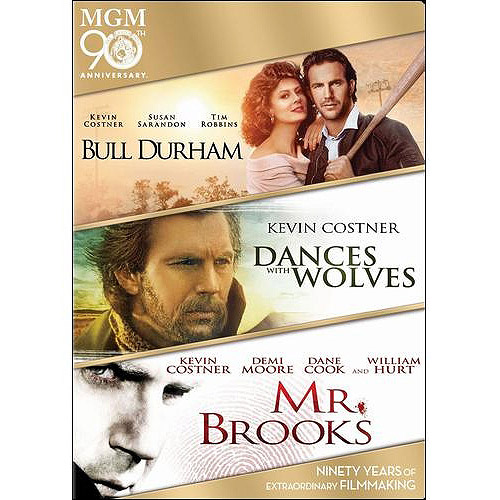 Bull Durham   Dances With Wolves   Mr. Brooks (DVD) by MGM/UA STUDIOS
