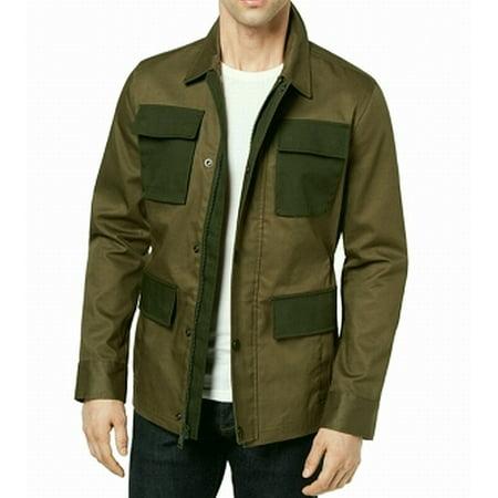 Army Green Mens Full Zip Field Jacket $199 XL (Jacket For Boys Tommy Hilfiger)