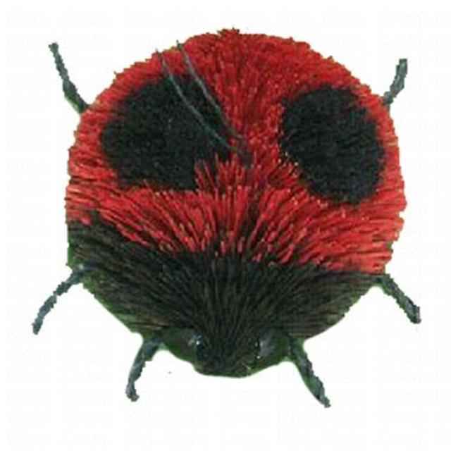 Brushart BRUSHOR13 2'' Ladybug Ornament with Wire and Glue