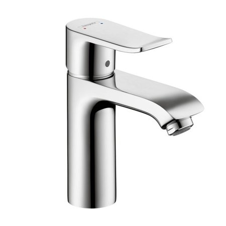 Hansgrohe 31204001 Metris Single Hole Bathroom Faucet, Less Pop-Up Drain Assembly, (Chrome Hansgrohe Accessories)