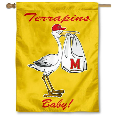 Maryland Terrapins New Baby Banner - Party Supplies Maryland