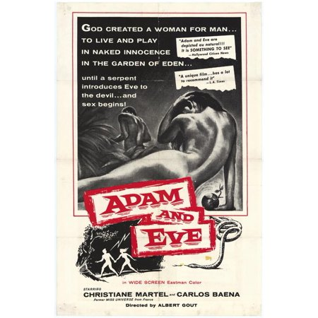 Adam And Eve Costumes Halloween (Adam and Eve POSTER Movie)
