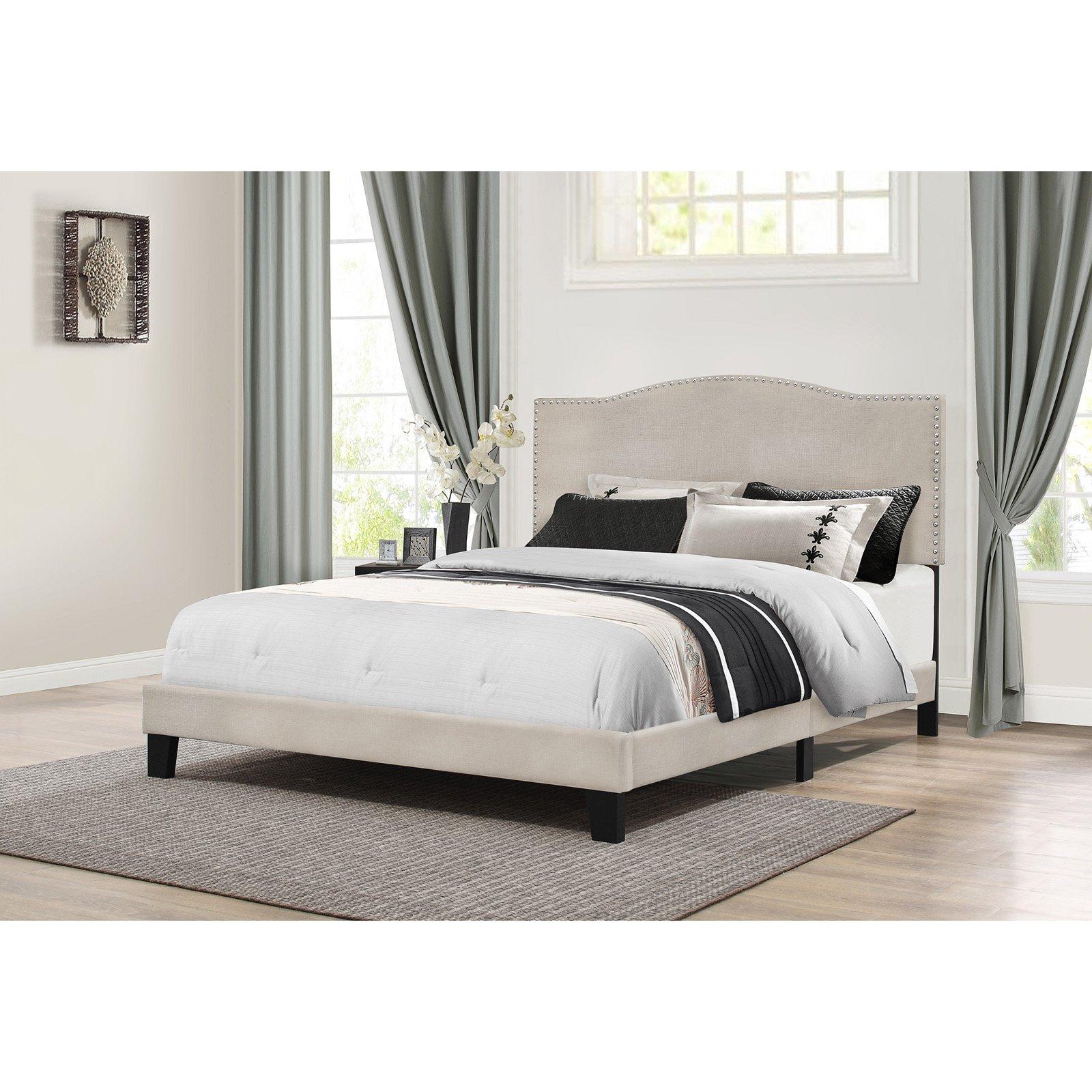 Hillsdale Furniture Kiley Full Bed, Fog