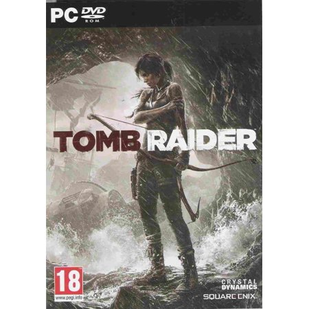 Tomb Raider (PC DVD) (UK IMPORT), Tomb Raider Rebooted - The new version of Tomb Raider is designed to reboot the game series for both the new.., By Square (Yellow Anaconda For Sale Uk)