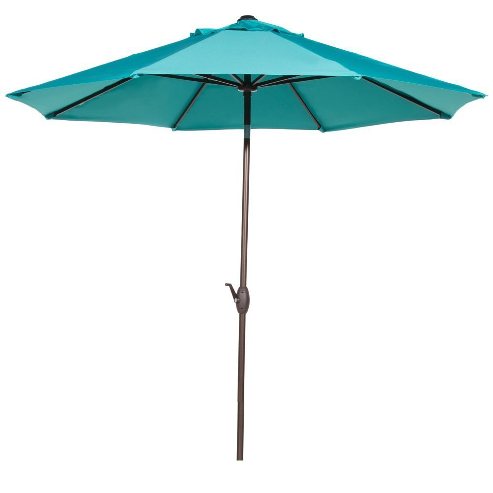 Abba Patio 9-Ft Fade Resistant Sunbrella Fabric Aluminum Patio Umbrella with Auto Tilt and... by Abba Patio