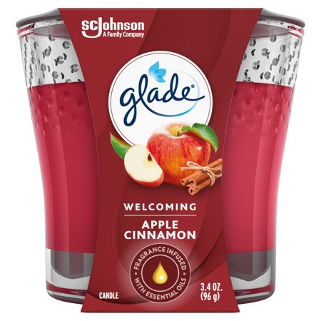 Glade Apple Cinnamon Candle - 3.4oz