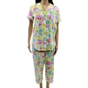 Lauren Ralph Lauren NEW Yellow Pink Women's Small S Floral Pajama Set