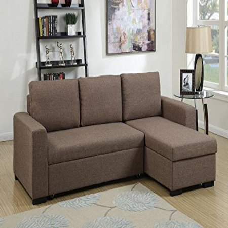 1perfectchoice modern 2 pcs sectional sofa pull out bed for 2 seater pull out sofa bed